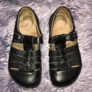 Birkenstock Laufsohle Alsa-Schaum Black Leather